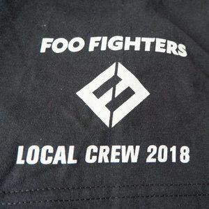 Foo Fighters Tour Shirt - Local Crew Shirt NWOT